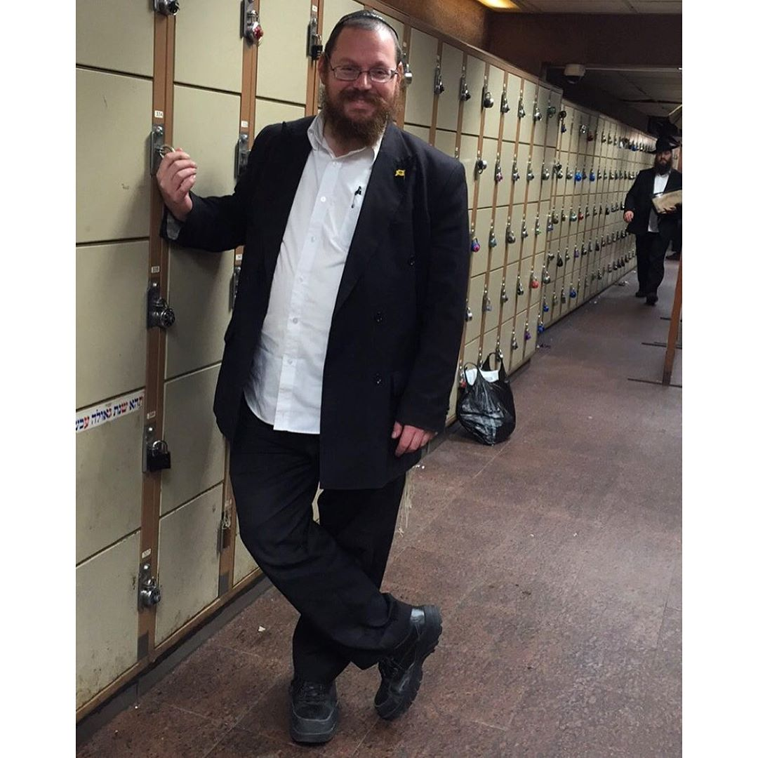 Don't forget to clean your locker out for Pesach!