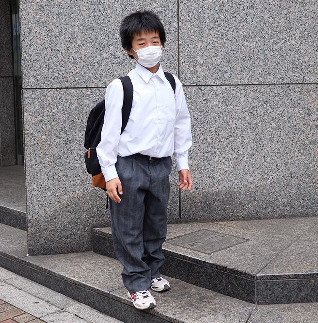 Kids school uniforms in Tokyo are nicer than the way most fellas dress for the office back in the usa. ?️
