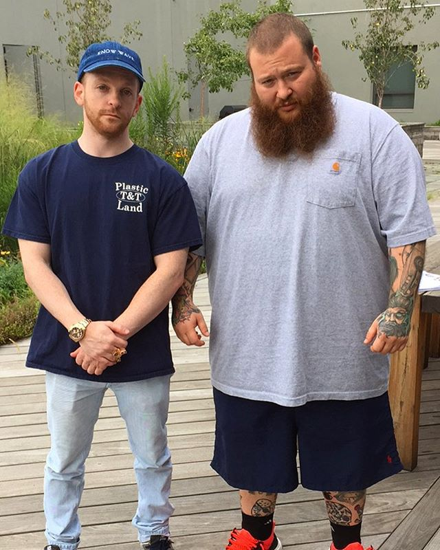 with big dudes today