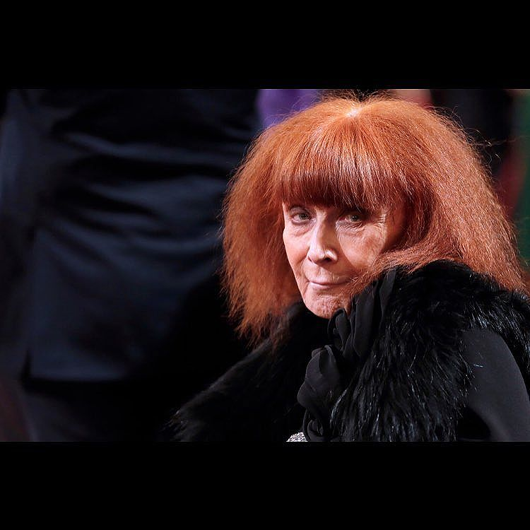"We lost a great jewish French designer today. My color is black,"" she once told an American fashion editor. ""And black, if it's worn right, is a scandal."" Sonia Rykiel BDE may her soul be uplifted!"