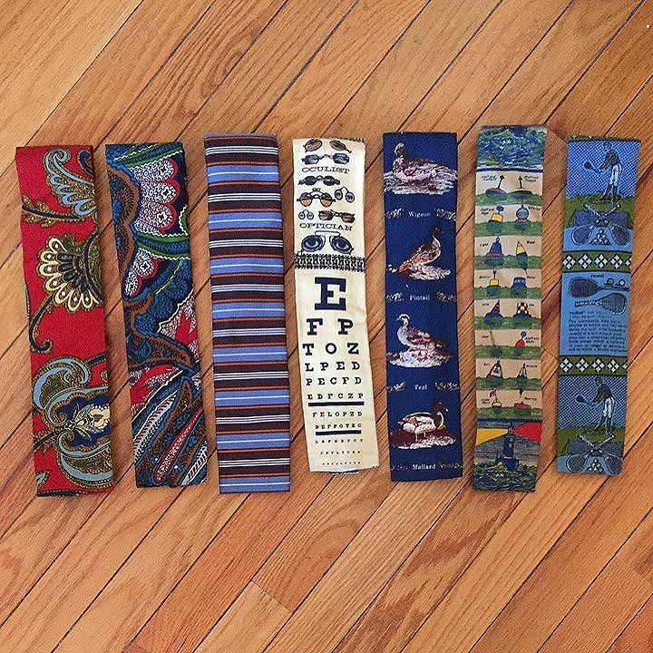this company was famous for square bottom ties. most were cotton canvas made from graphics used for table cloths. a very famous tie maker (ralph lauren) hired their designer to design RL's. he's since passed and no one seems to care about ties much. i'm selling a bunch. make an offer. USA only