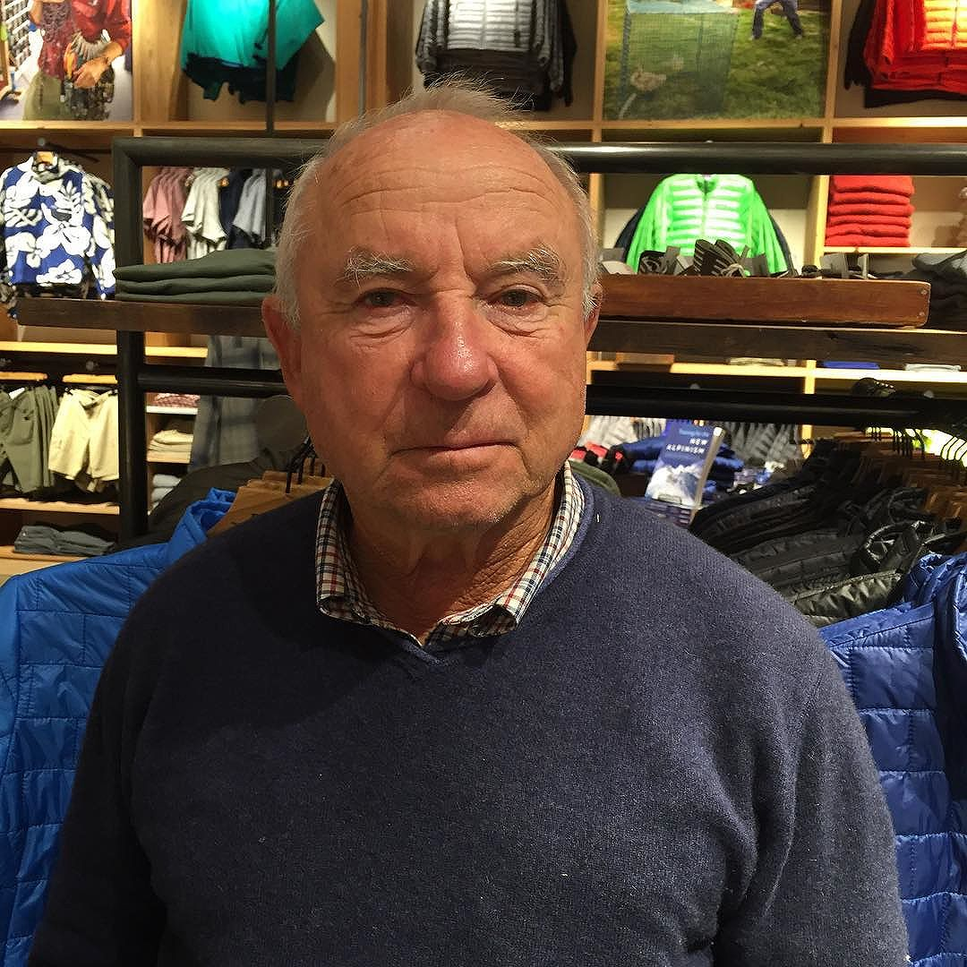 Yvon Chouinard is a rock climber, environmentalist, and outdoor industry businessman. (He founded Patagonia) Chouinard is also a surfer, kayaker, falconer and fly fisherman, particularly fond of tenkara fly-fishing.