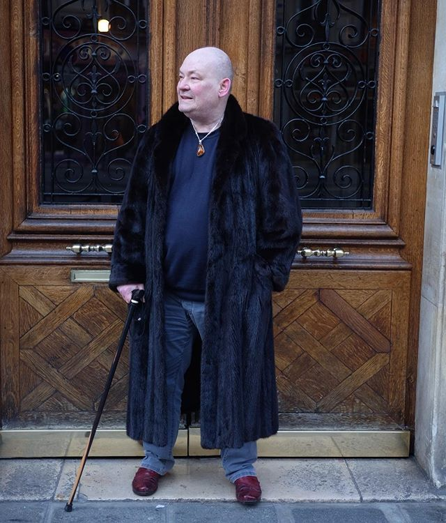 It's Paris Fashion Week and the men are wearing furs