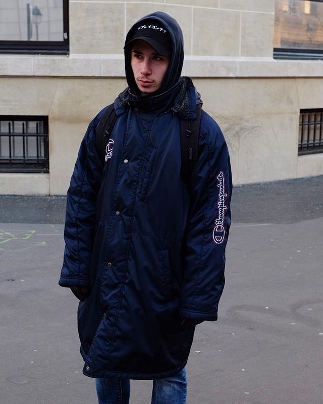 dad hats and huge outerwear trending hard in Paris (and worldwide) this winter