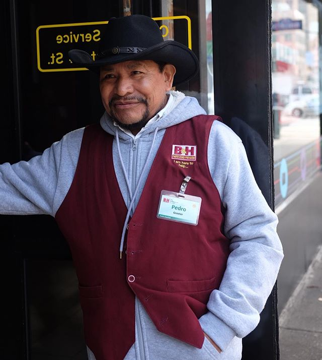 Pedro wears a vest over a zip hoodie and button-up. Sure, it's his uniform, but it's also rad AF....but you know that, that's why you're here. You'll try this yourself, but please don't do the cowboy hat. You're not Pedro.
