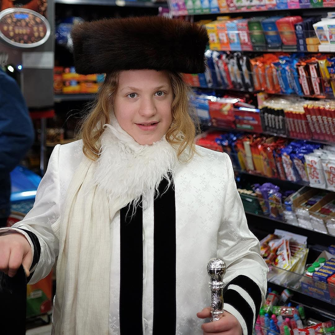 What you may not realize is that costume choices are extremely limiting for chassidic children. Most parents would not let their son dress as anything but a tzadik (you'll have to google) or character from the Book Of Esther.Sure you have kids going as all types of things but this is the most popular costume for young boys