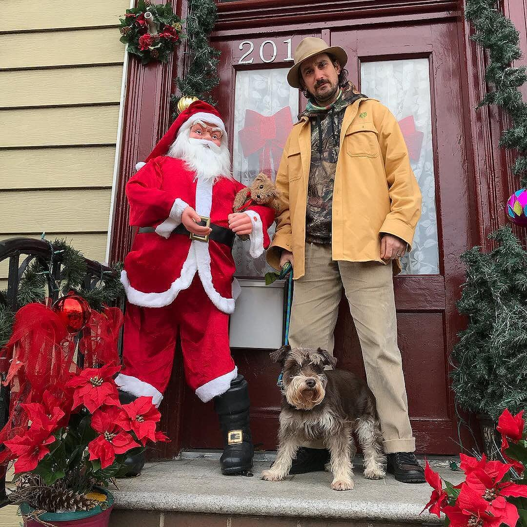 these won't last. i'll probably delete the holiday cheer (selfies) it's just i get all excited being a jew around this time of year. so many trees/santa's so little time...I love a holiday outfit. I think so many jews do on the low  @cerasulo  holiday wardrobe by @llbean